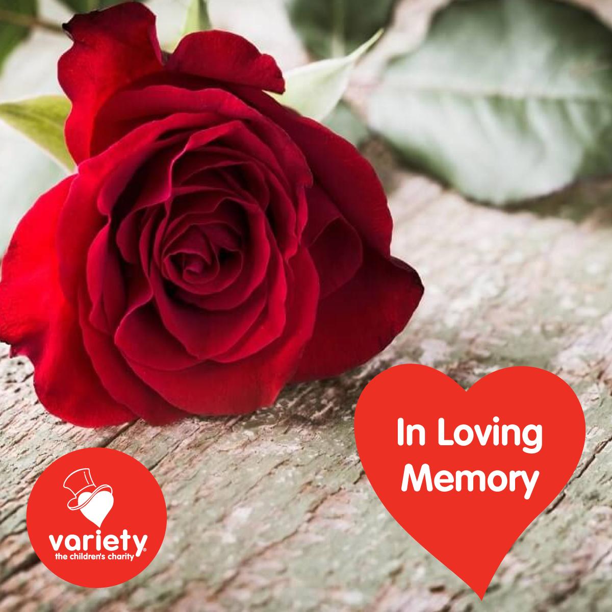 Social tile - in loving memory