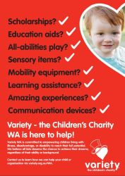 About Variety - A4 Flyer